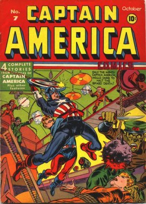 Captain America Comics # 7