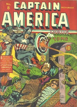 Captain America Comics # 8