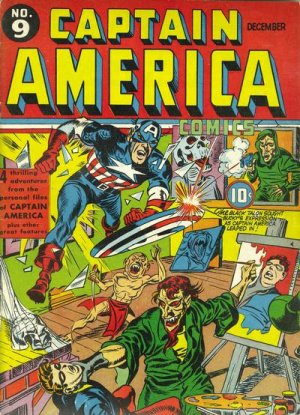 Captain America Comics # 9