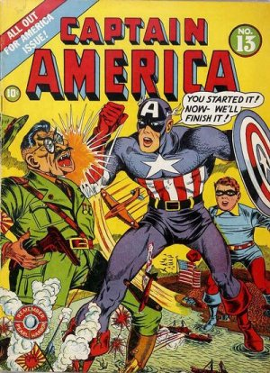 Captain America Comics # 13