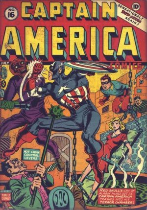 Captain America Comics # 16