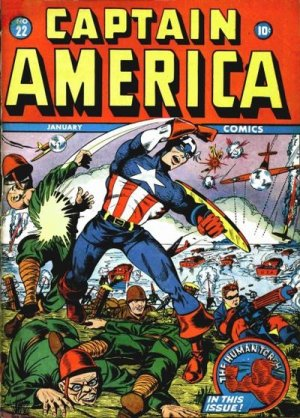 Captain America Comics 22