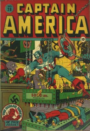 Captain America Comics # 28
