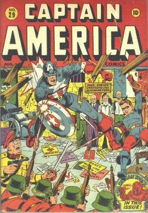 Captain America Comics 29