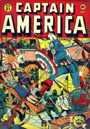 Captain America Comics 31