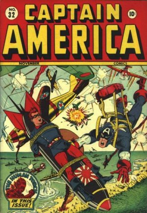 Captain America Comics 32
