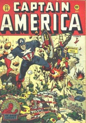 Captain America Comics 33