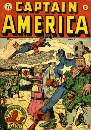 Captain America Comics 34