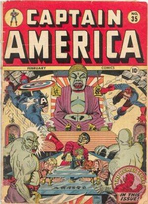 Captain America Comics 35