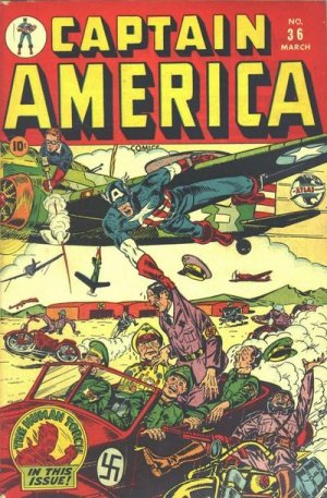 Captain America Comics 36