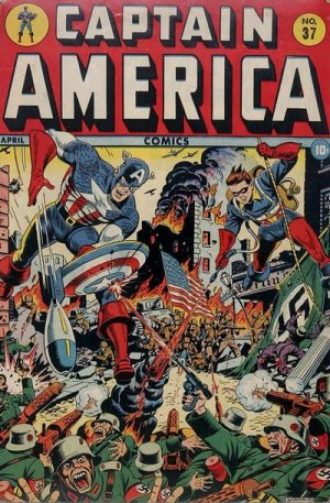 Captain America Comics 37