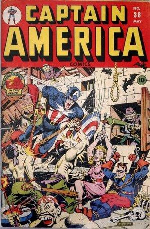 Captain America Comics 38