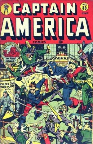 Captain America Comics 39