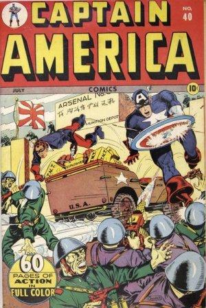 Captain America Comics 40