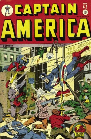 Captain America Comics 42
