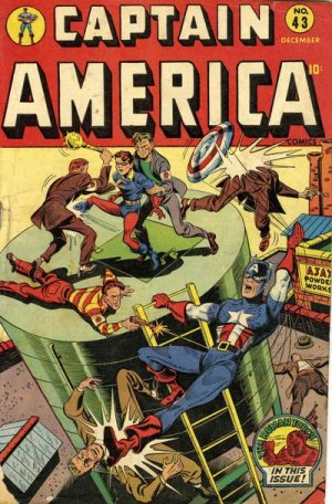 Captain America Comics 43