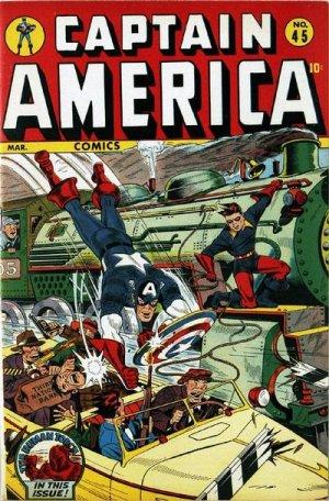 Captain America Comics 45