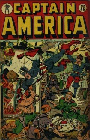 Captain America Comics 46