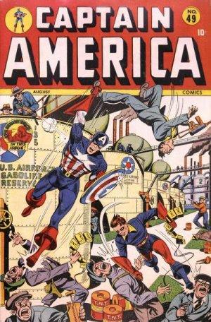Captain America Comics 49