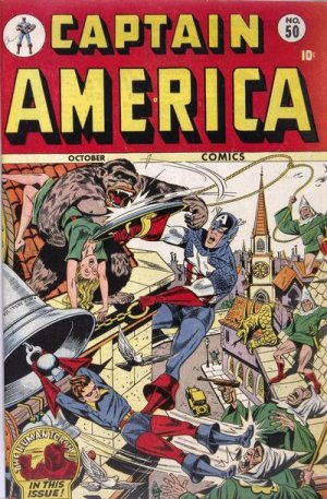 Captain America Comics 50
