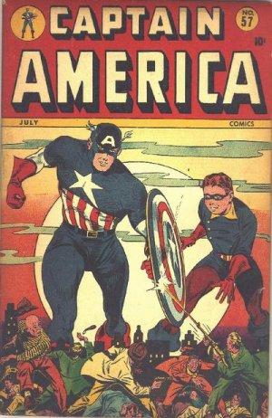 Captain America Comics 57
