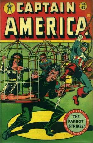 Captain America Comics 63