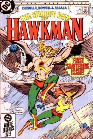 The Shadow War of Hawkman édition Issues