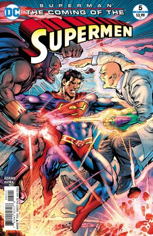 Superman - The Coming of the Supermen # 5 Issues