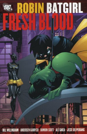 Robin / Batgirl - Fresh Blood édition TPB softcover (souple)