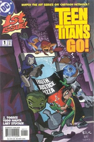 Teen Titans Go ! édition Issues V1 (2004 - 2008)