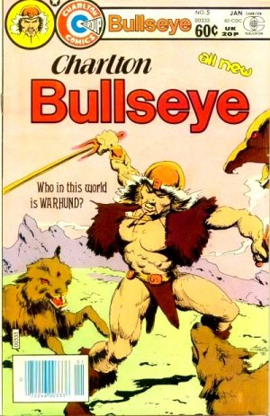 Charlton Bullseye # 5 Issues (1981 - 1982)