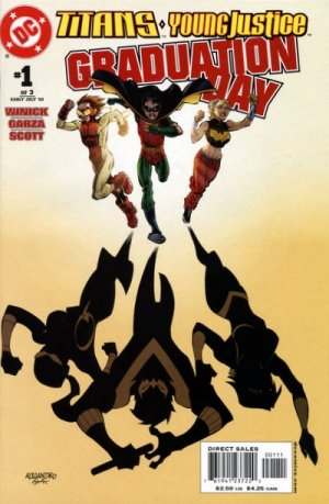 Titans / Young Justice - Graduation Day édition Issues