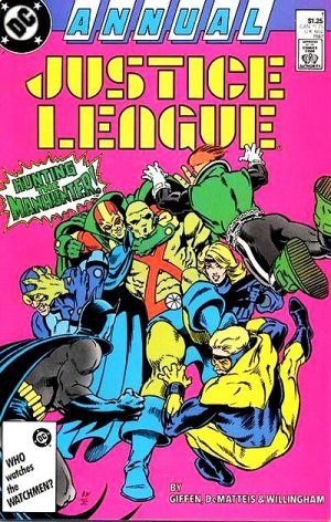 Justice League édition Issues V1 - Annuals (1987)