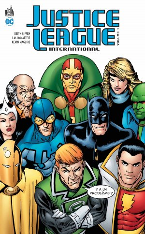 Justice League International édition TPB hardcover (cartonnée)