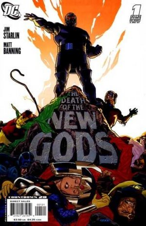 The death of the new gods édition Issues (2007 - 2008)