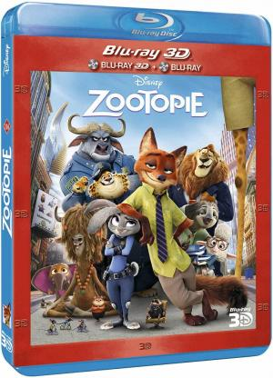 Zootopie édition Combo Blu-ray + blu- ray 3D