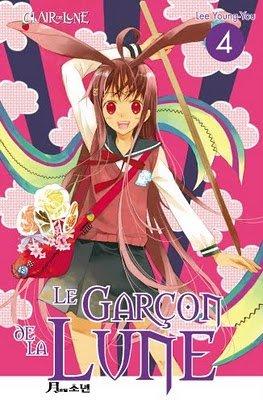 couverture, jaquette Le garçon de la lune 4  (Clair de lune Manga)