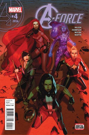 A-Force # 4 Issues V2 (2016)