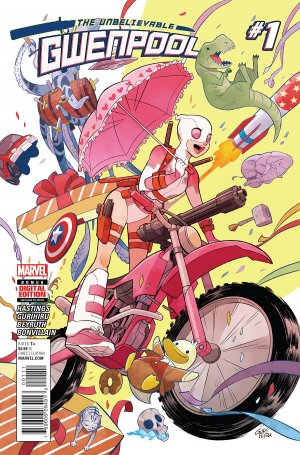 Gwenpool # 1 Issues (2016 - 2018)
