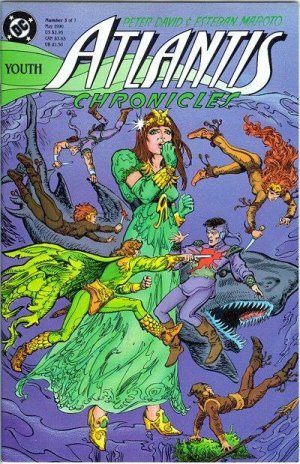 Atlantis Chronicles # 3 Issues