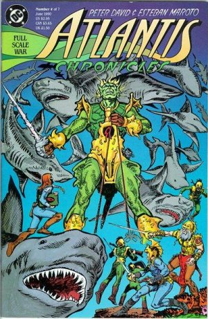Atlantis Chronicles # 4 Issues