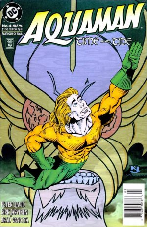 Aquaman - Time and Tide # 4