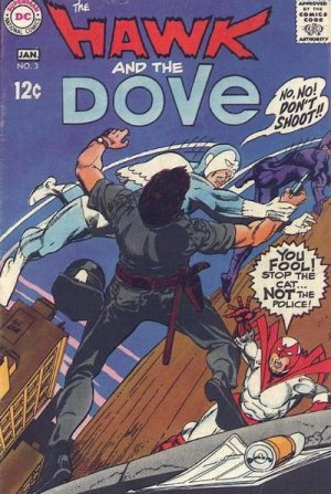 The Hawk and the Dove # 3 Issues V1 (1968 - 1969)