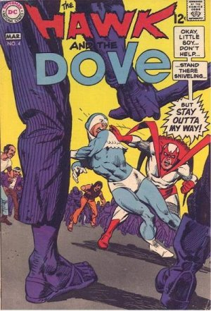 The Hawk and the Dove # 4 Issues V1 (1968 - 1969)