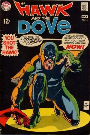 The Hawk and the Dove # 5 Issues V1 (1968 - 1969)
