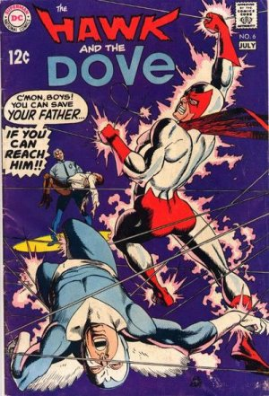 The Hawk and the Dove # 6 Issues V1 (1968 - 1969)