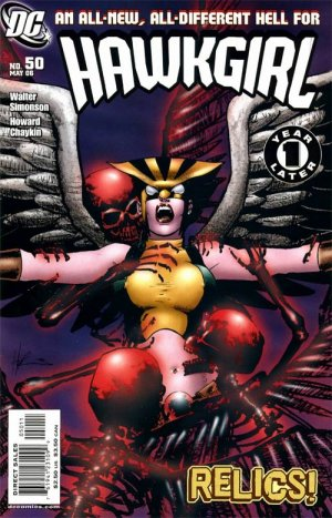 Hawkgirl édition Issues