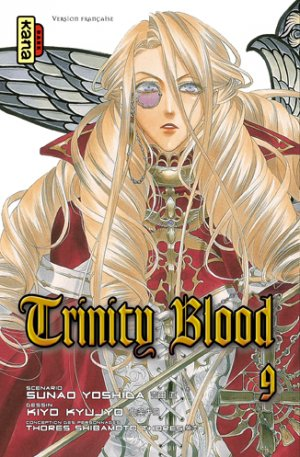 couverture, jaquette Trinity Blood 9  (kana) Manga