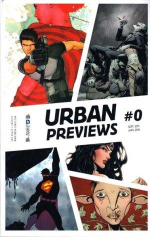 Urban Previews édition TPB softcover (souple)