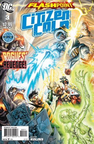 Flashpoint - Citizen Cold # 3 Issues